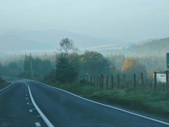 Day 2 - I have to drive home today (taking my time though). This is just north of Fort William